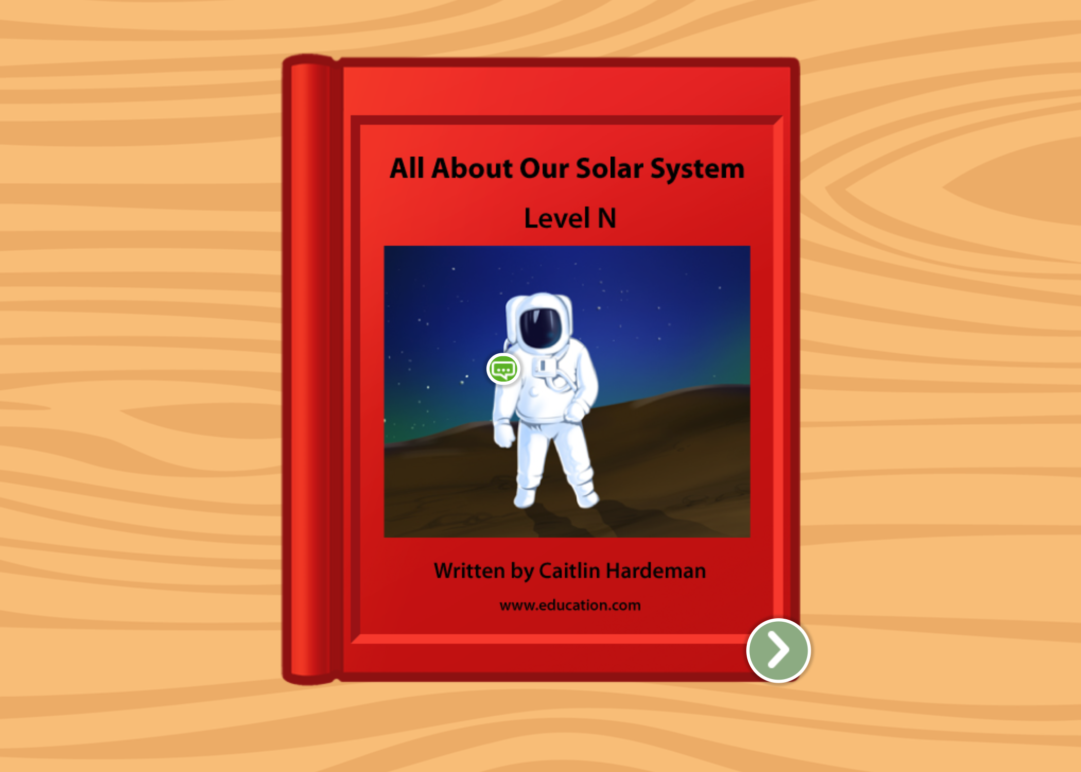 2nd grade Reading & Writing Stories: All About Our Solar System: Level N