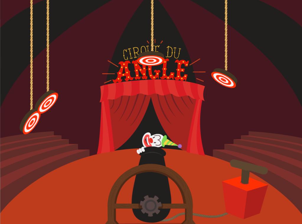 4th grade Math Games: Angle Measurement: Circus Edition