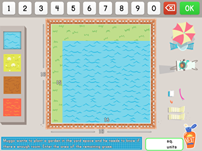 Build a Pool: Area Models and Multiplication Word Problems