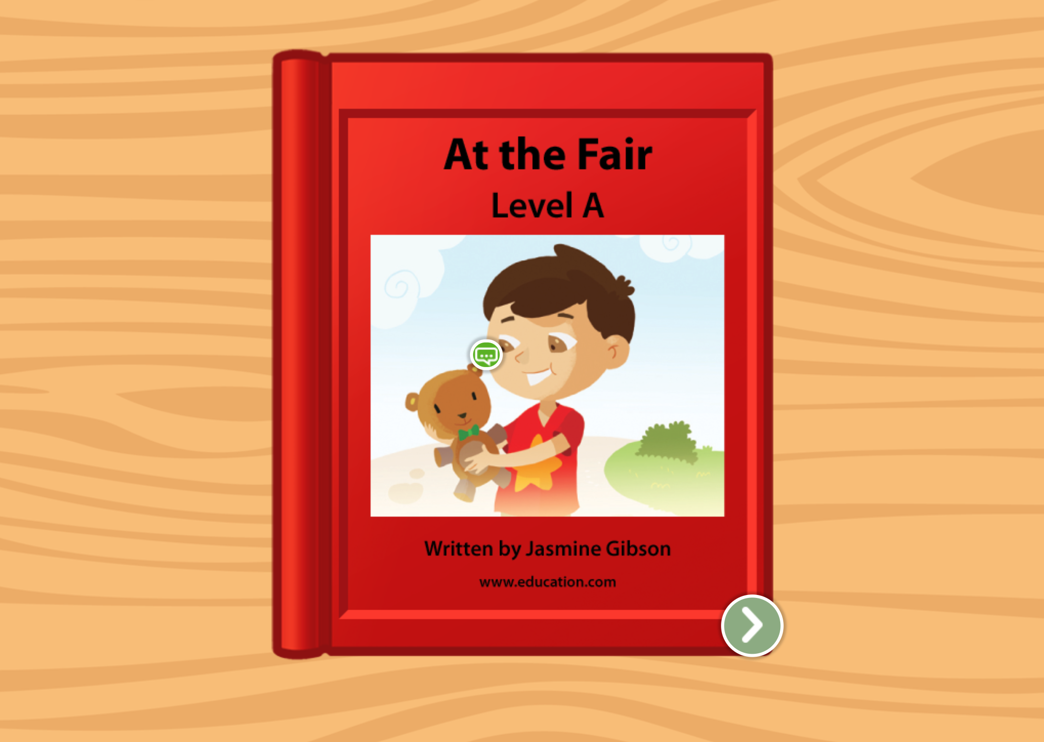 Preschool Reading & Writing Stories: At The Fair: Level A