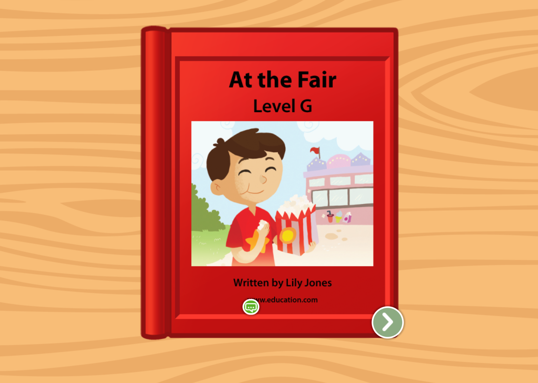1st grade Reading & Writing Stories: At The Fair: Level G
