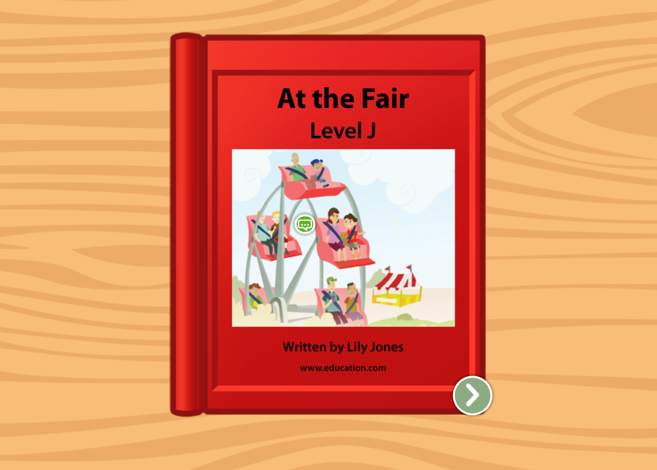 1st grade Reading & Writing Stories: At the Fair: Level J