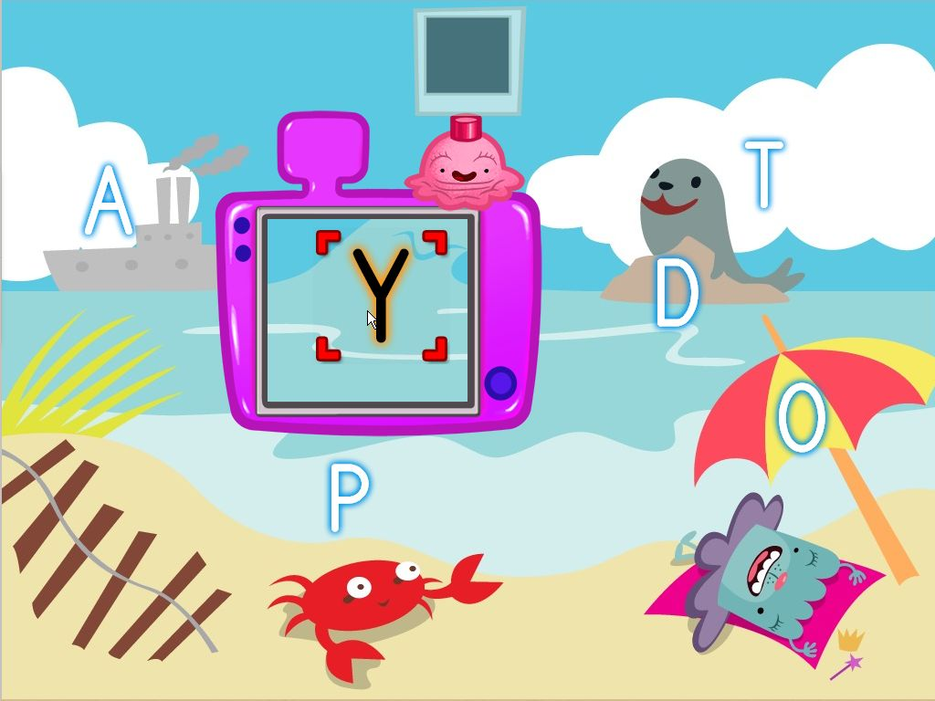 Alphabet Beach Photoshoot Game | Game | Education.com