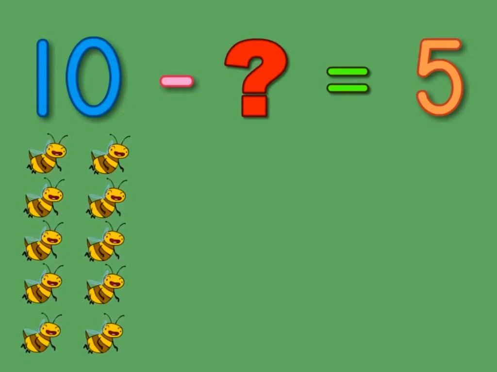Buzzing Bees Subtraction Song | Song | Education.com