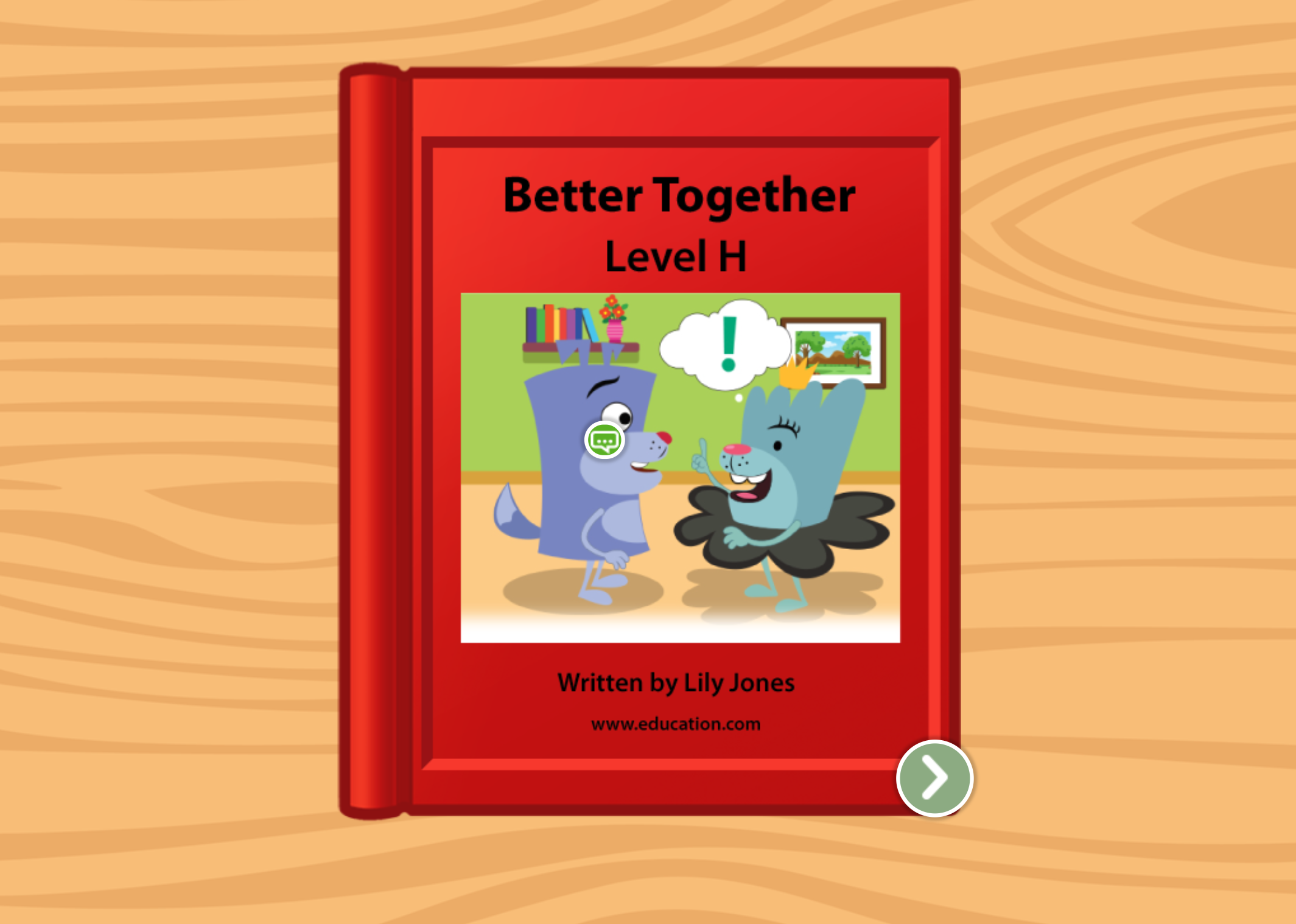 1st grade Reading & Writing Stories: Better Together: Level H