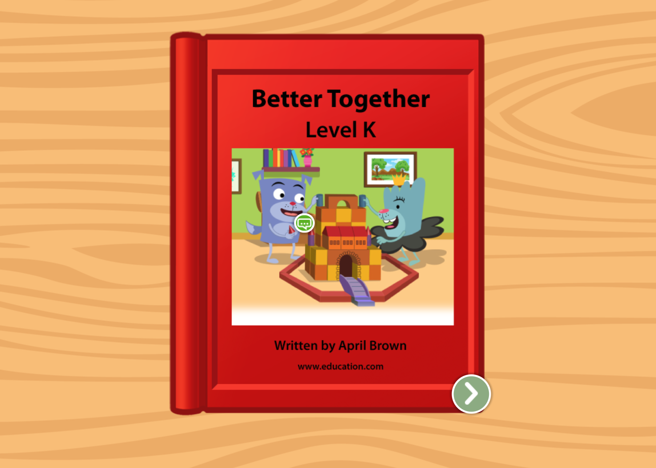 2nd grade Reading & Writing Stories: Better Together: Level K