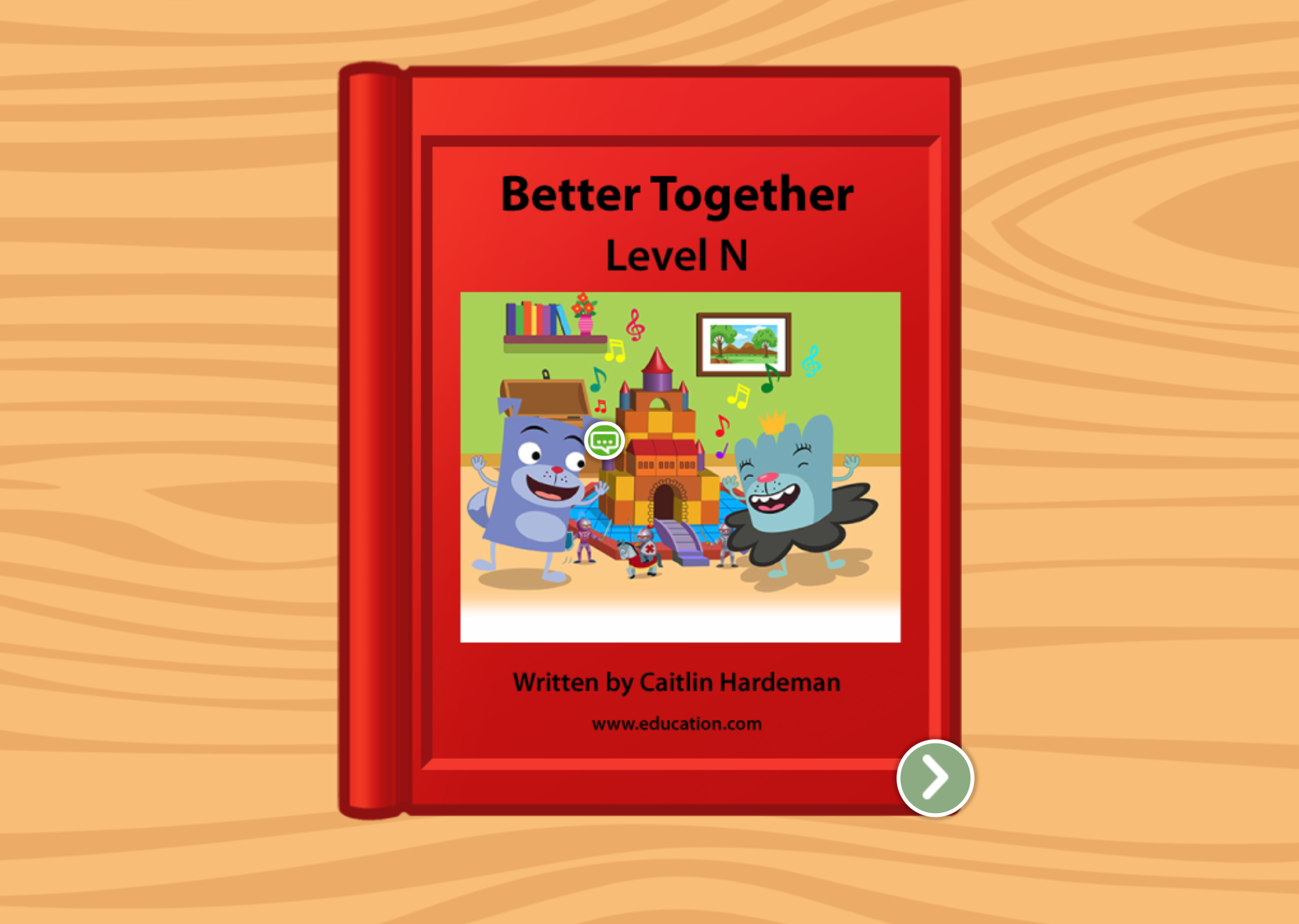 2nd grade Reading & Writing Stories: Better Together: Level N