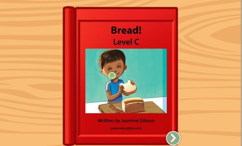 Kindergarten Reading & Writing Stories: Bread!: Level C