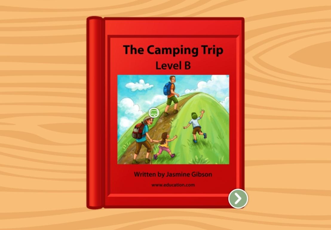 Kindergarten Reading & Writing Stories: Camping Trip: Level B
