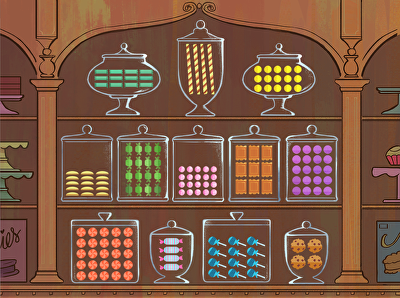 Candy Shop Arrays