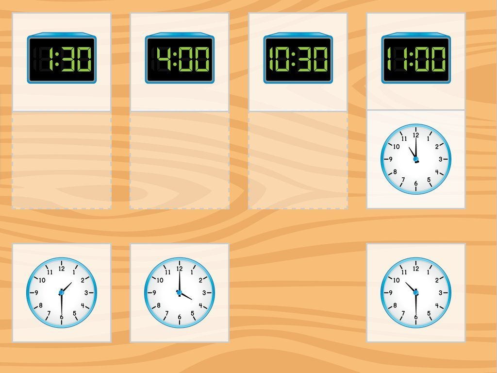 Image for Clock Match: Time to Half-Hour