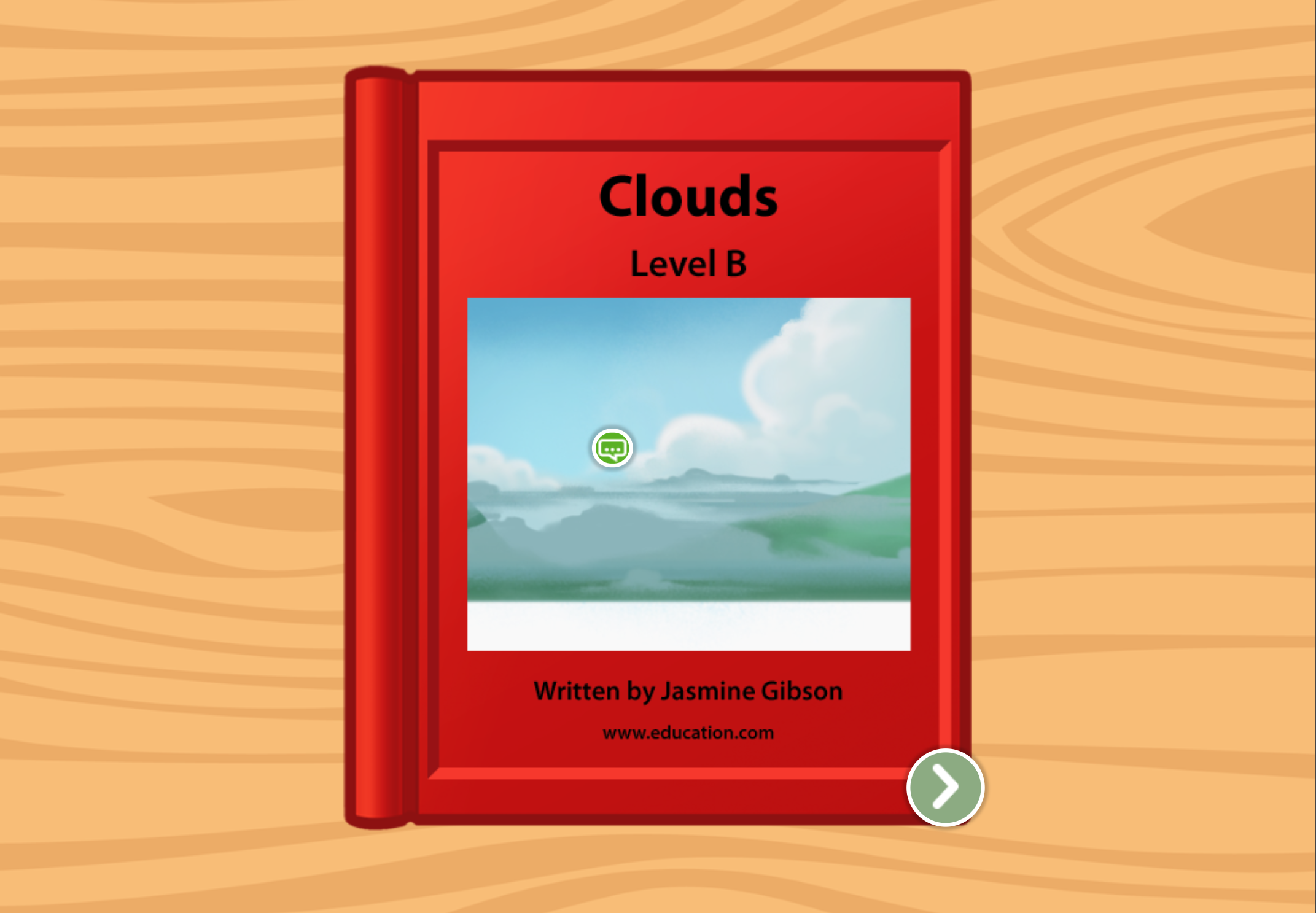 Kindergarten Reading & Writing Stories: Clouds: Level B