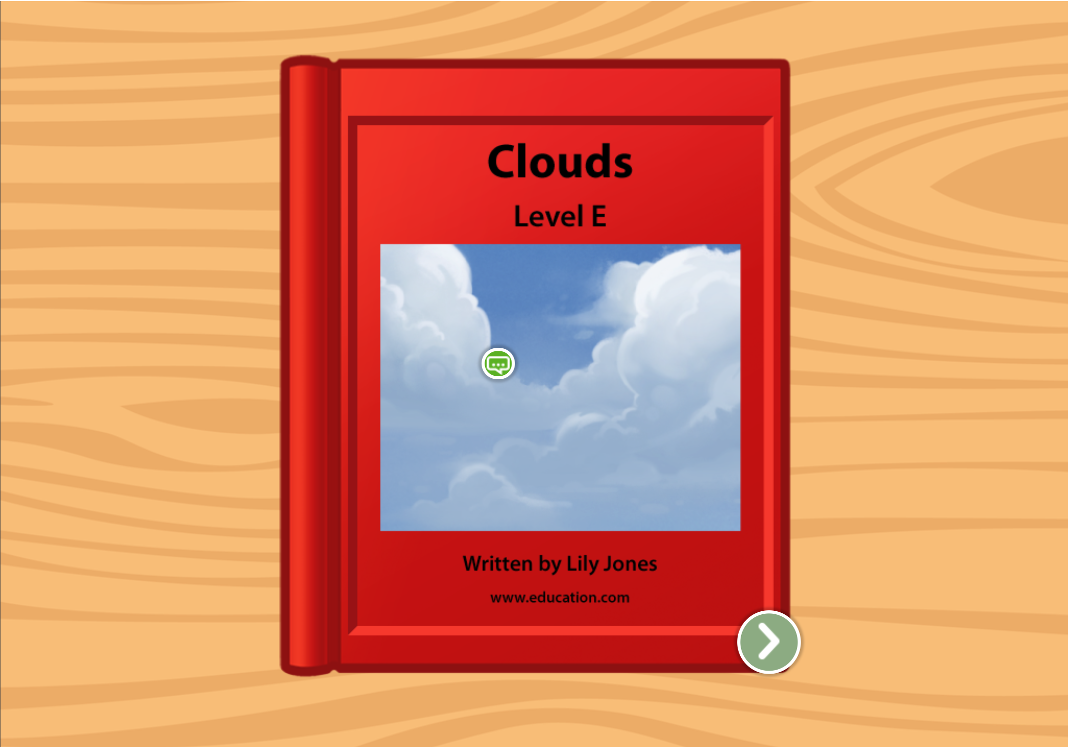 1st grade Reading & Writing Stories: Clouds: Level E