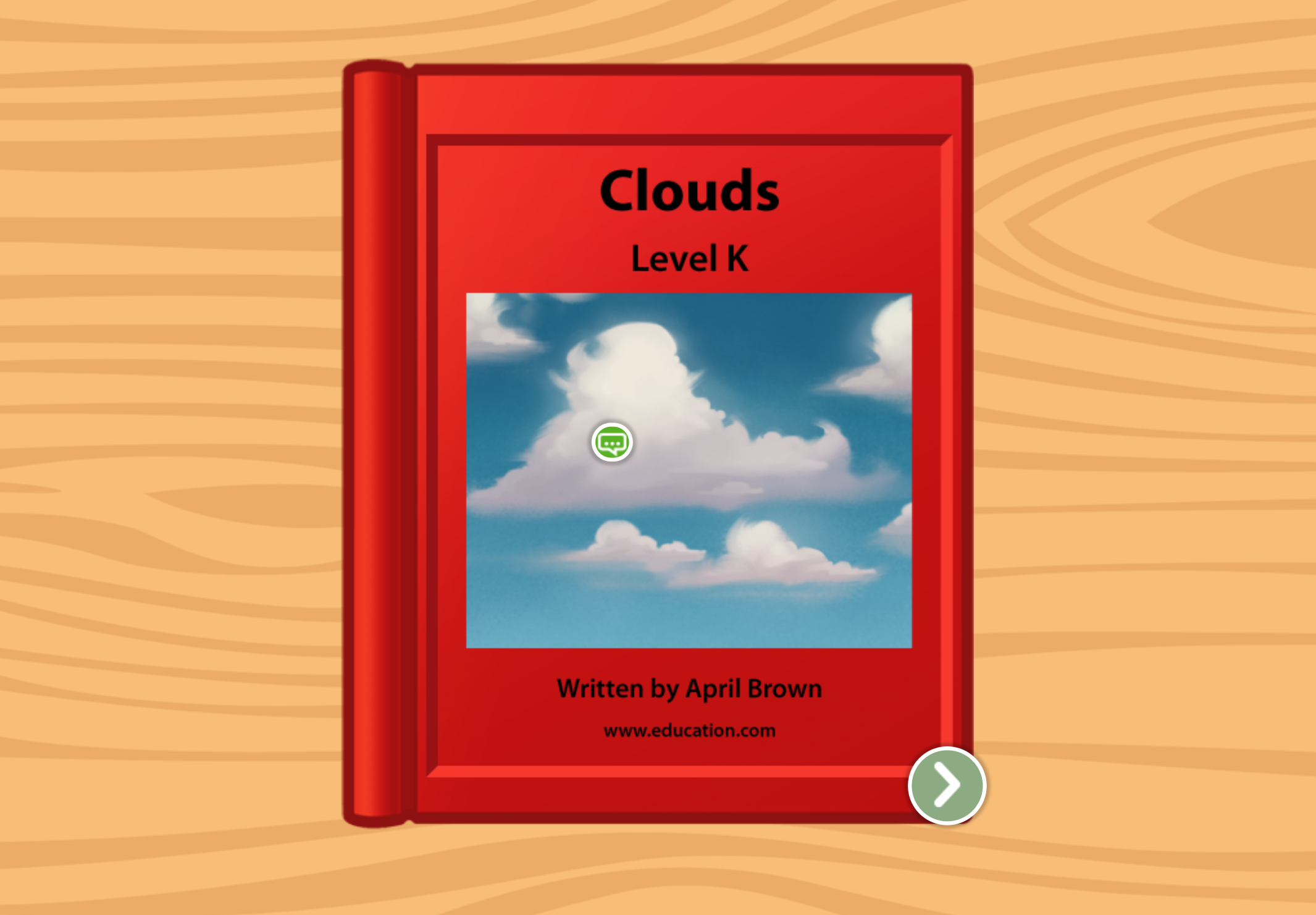 2nd grade Reading & Writing Stories: Clouds: Level K