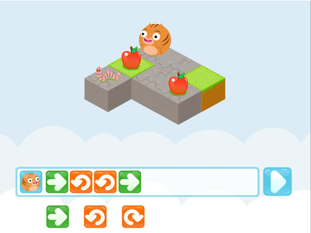 Kindergarten Coding Games Games: Learn Coding With Roly