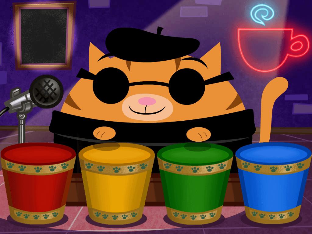 Preschool Reading & Writing Games: Color Simon