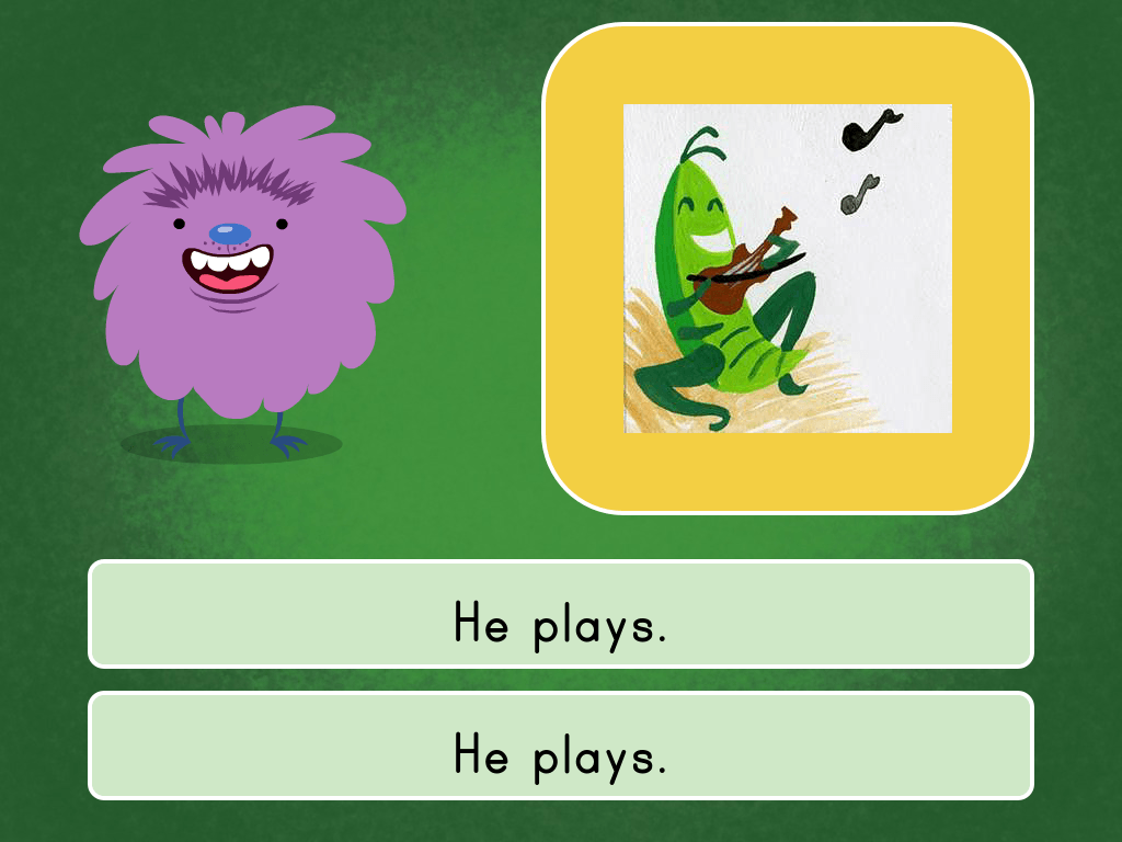 Kindergarten Reading & Writing Games: Contrasting Literature Quiz 2