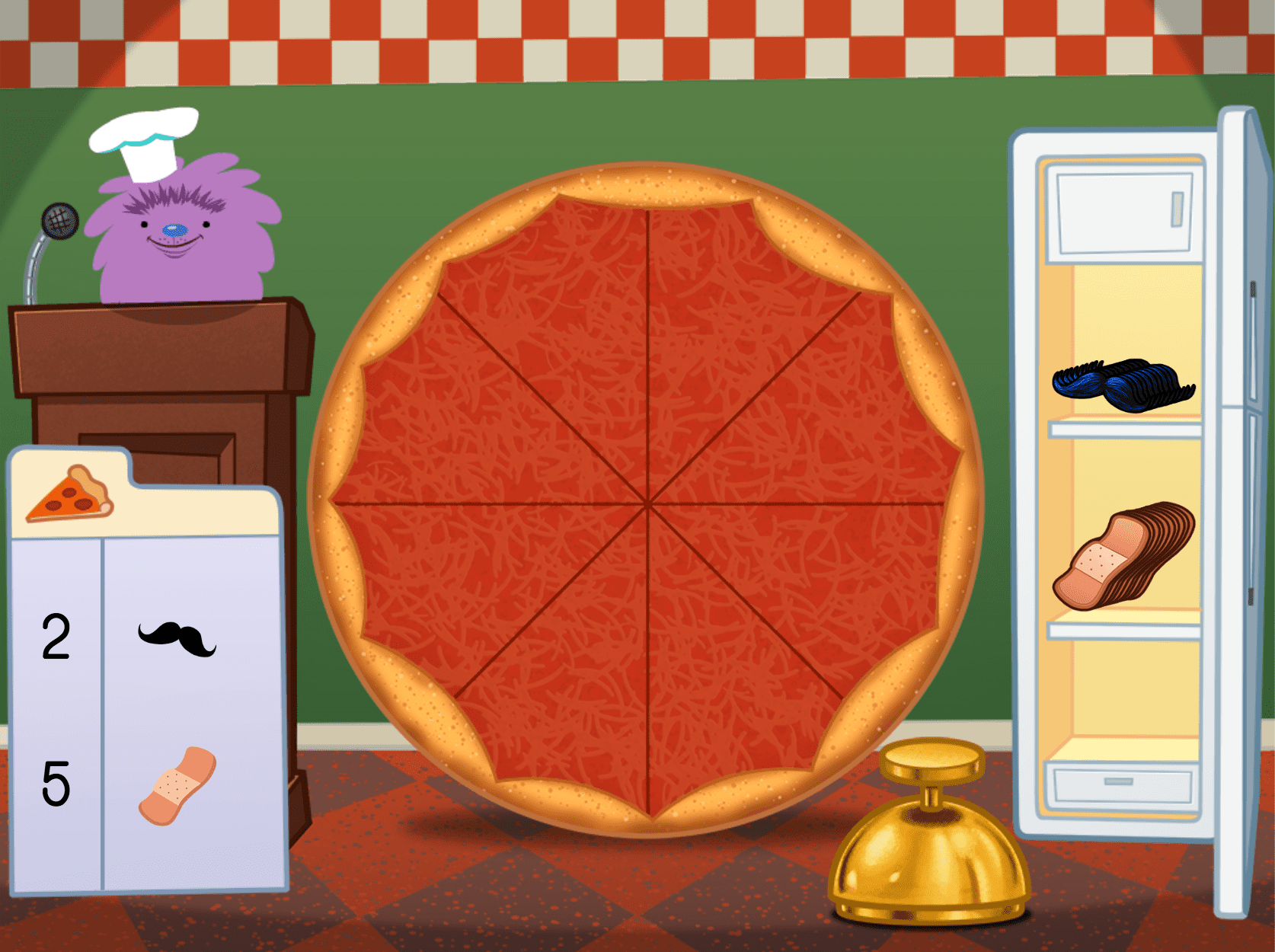 Counting Pizza Party Game | Game | Education com