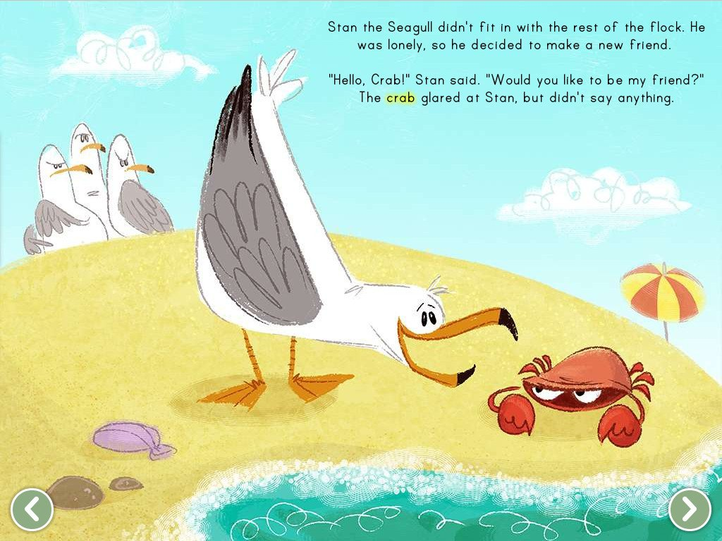 The Crabby Crab Story Story Education Com