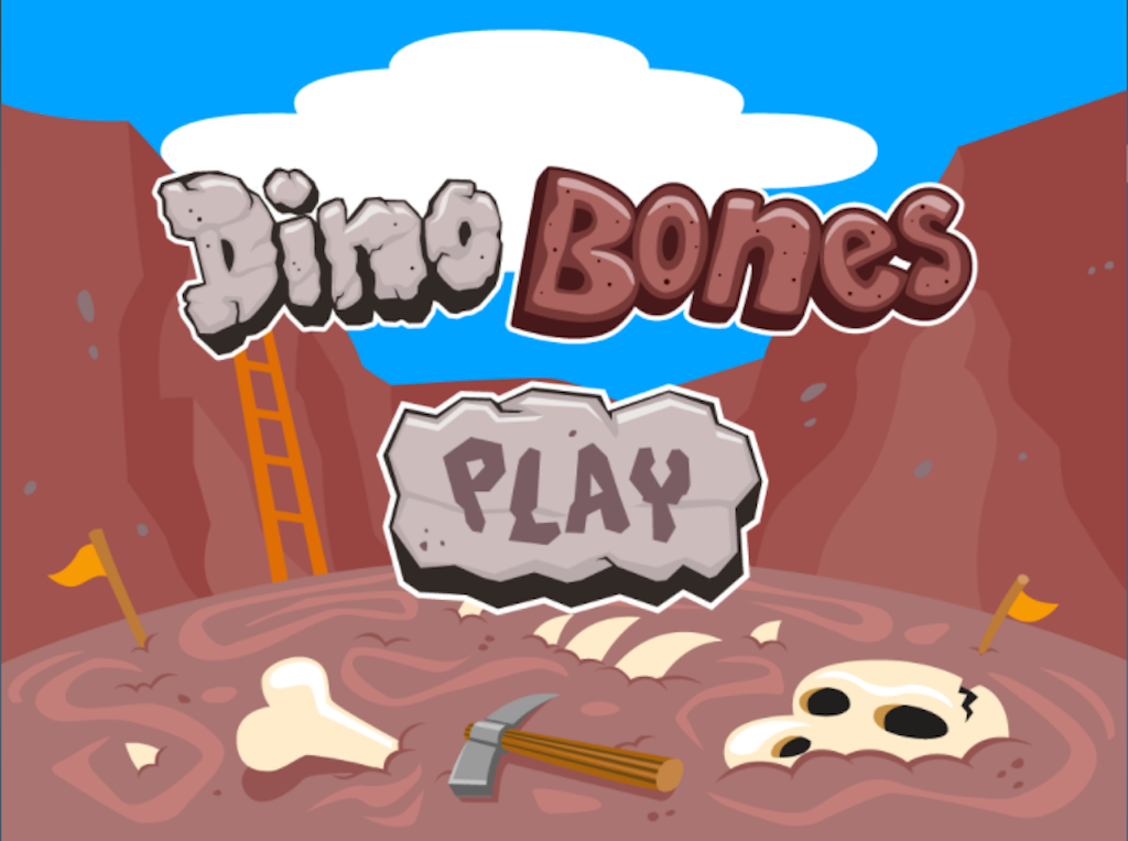 3rd grade Math Games: Dino Bones: Rounding Three-Digit Numbers to the Nearest 10
