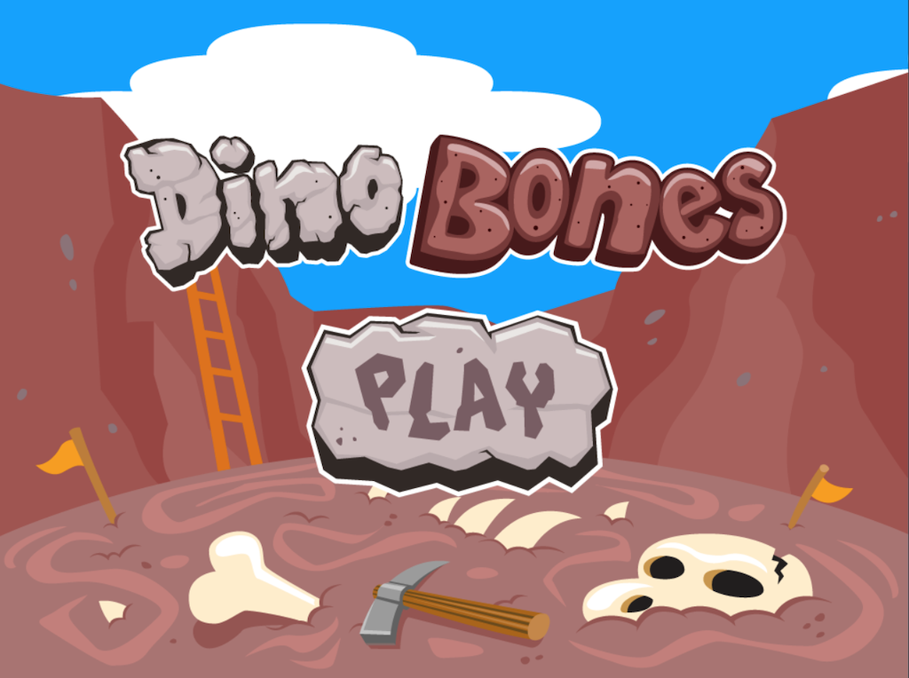 4th grade Reading & Writing Games: Dino Bones: Spell It!