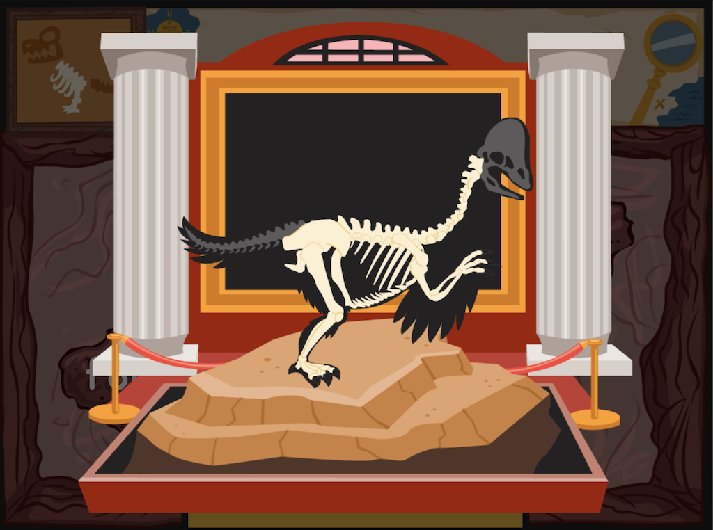4th grade Reading & Writing Games: Dino Bones: Synonyms