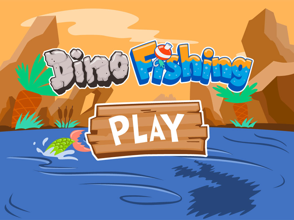 3rd grade Reading & Writing Games: Dino Fishing: Comparative Adjectives