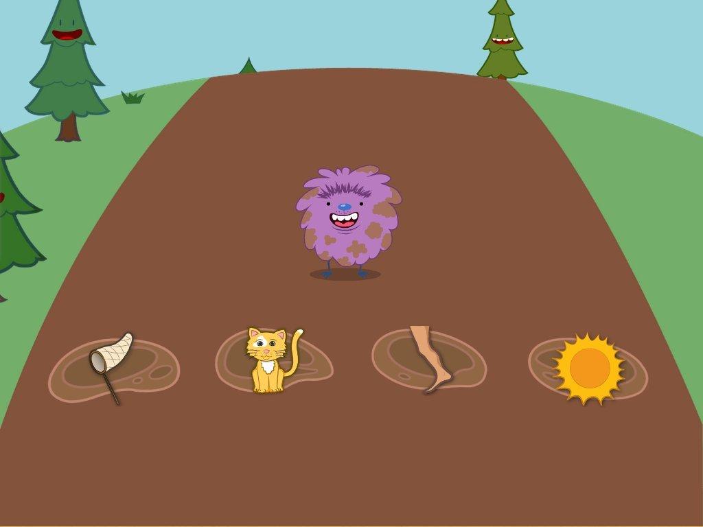 Kindergarten Reading & Writing Games: Ending Sounds Jump