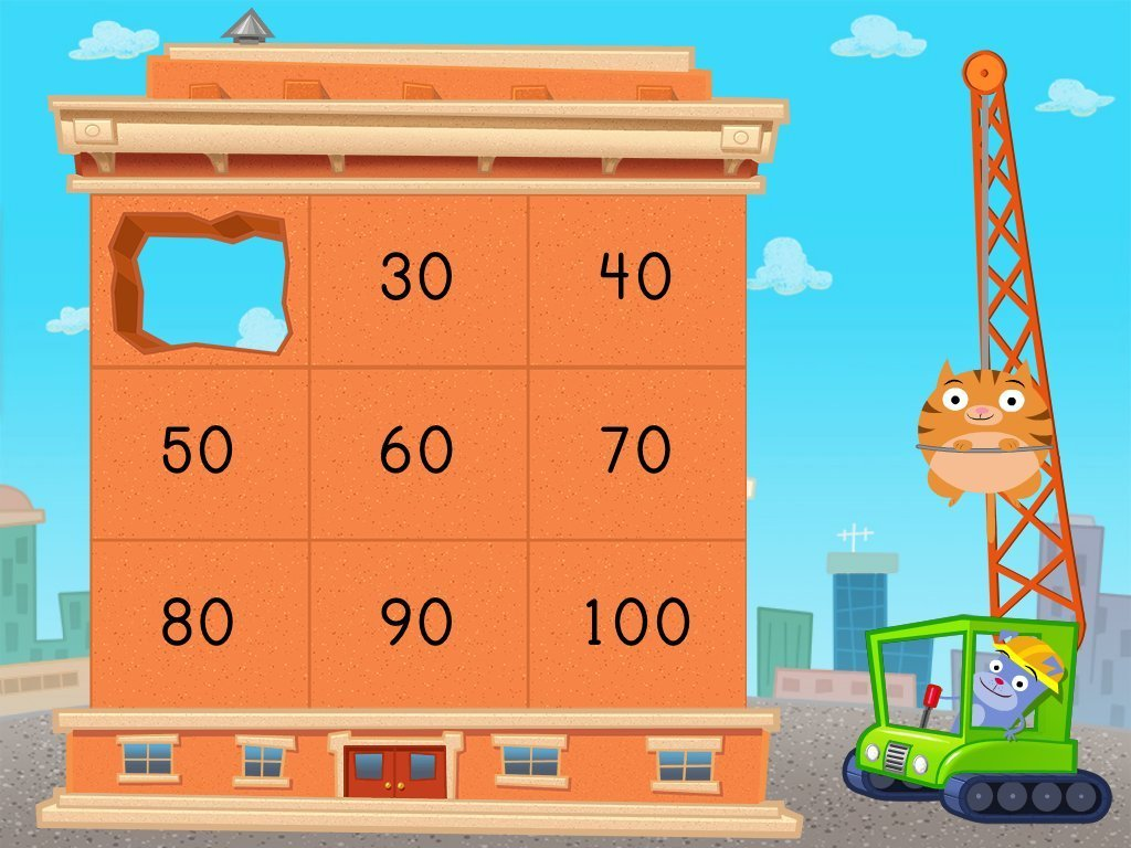 1st grade Math Games: Addition Demolition