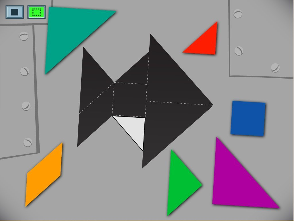 Preschool Math Games: Fish Tangram Challenge