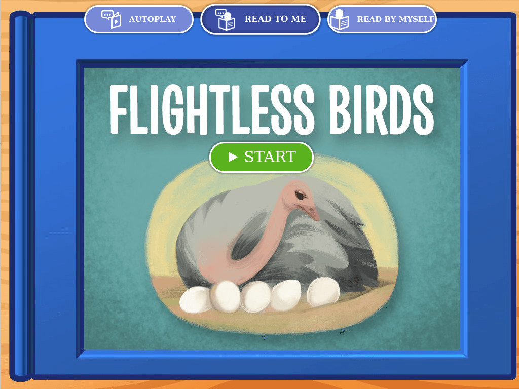 2nd grade Reading & Writing Stories: Flightless Birds