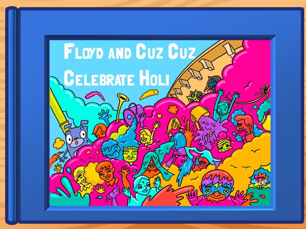 Image for Floyd and CuzCuz Celebrate Holi