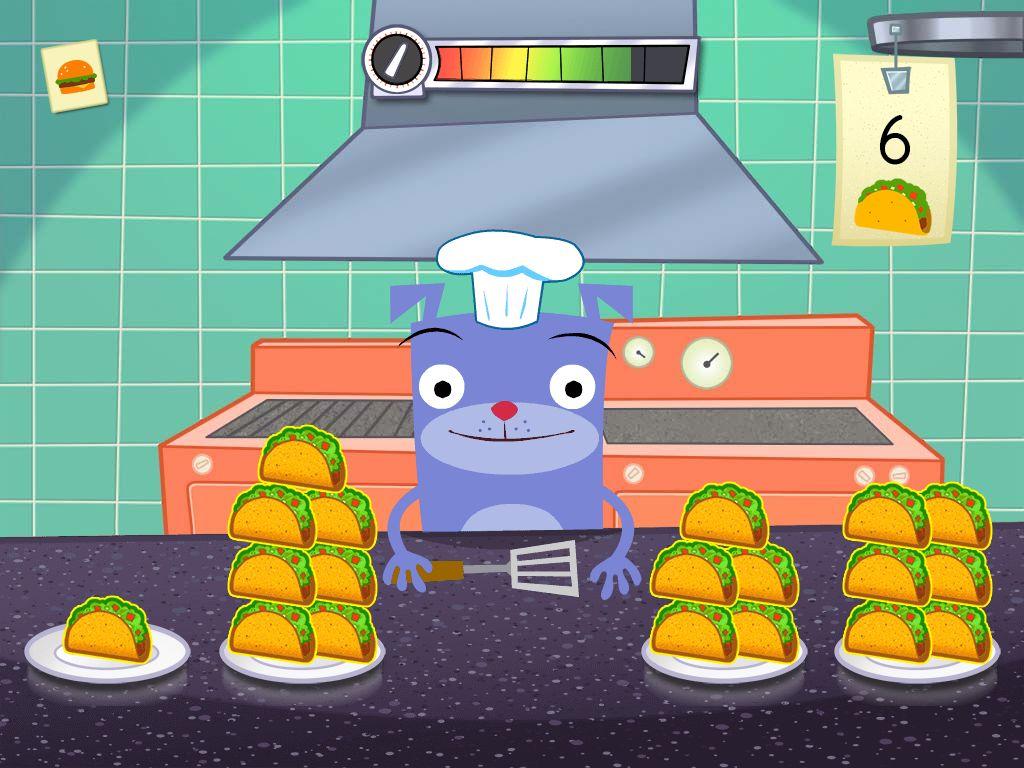 Kindergarten Math Games: Counting Restaurant Orders