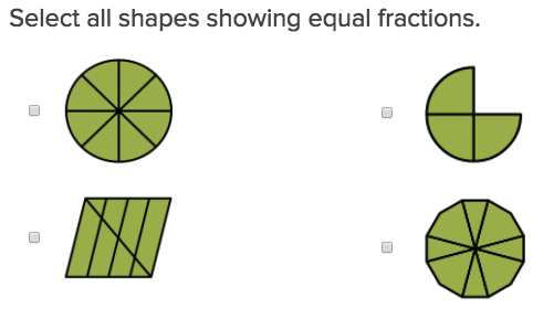 3rd grade Math Exercises: Fractions and Fair Shares