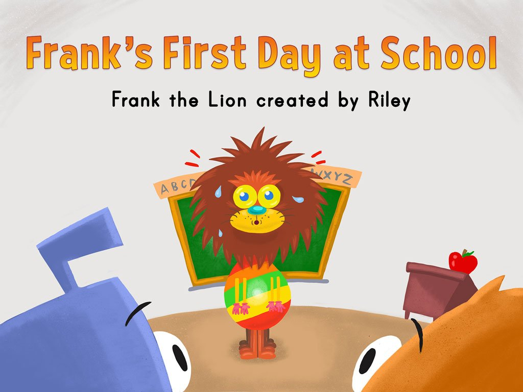 2nd grade Reading & Writing Stories: Frank's First Day at School