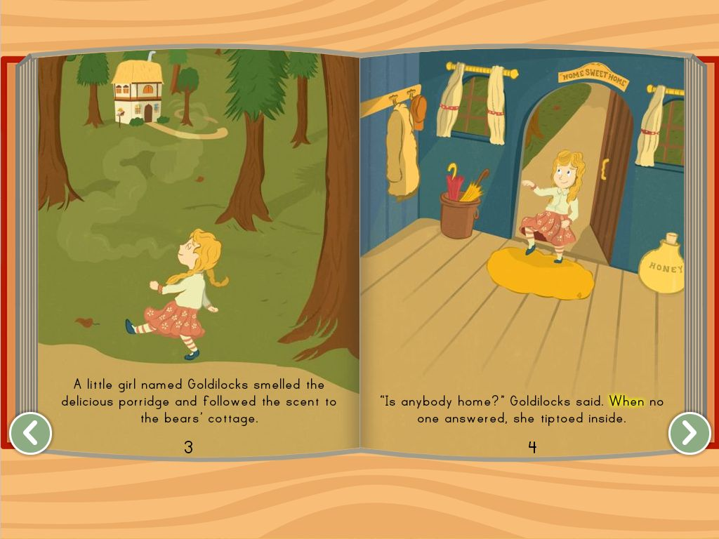 Uncategorized Goldilock And The Three Bears Story goldilocks and the three bears story education com