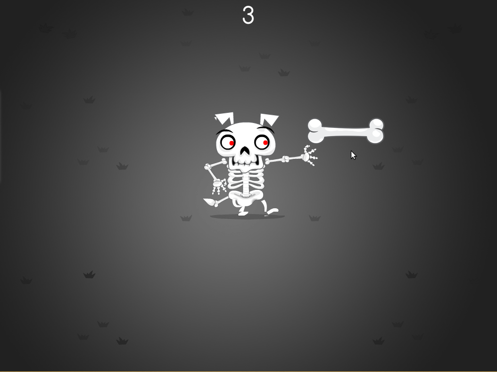 Preschool Math Games: Skeleton Bone Catcher