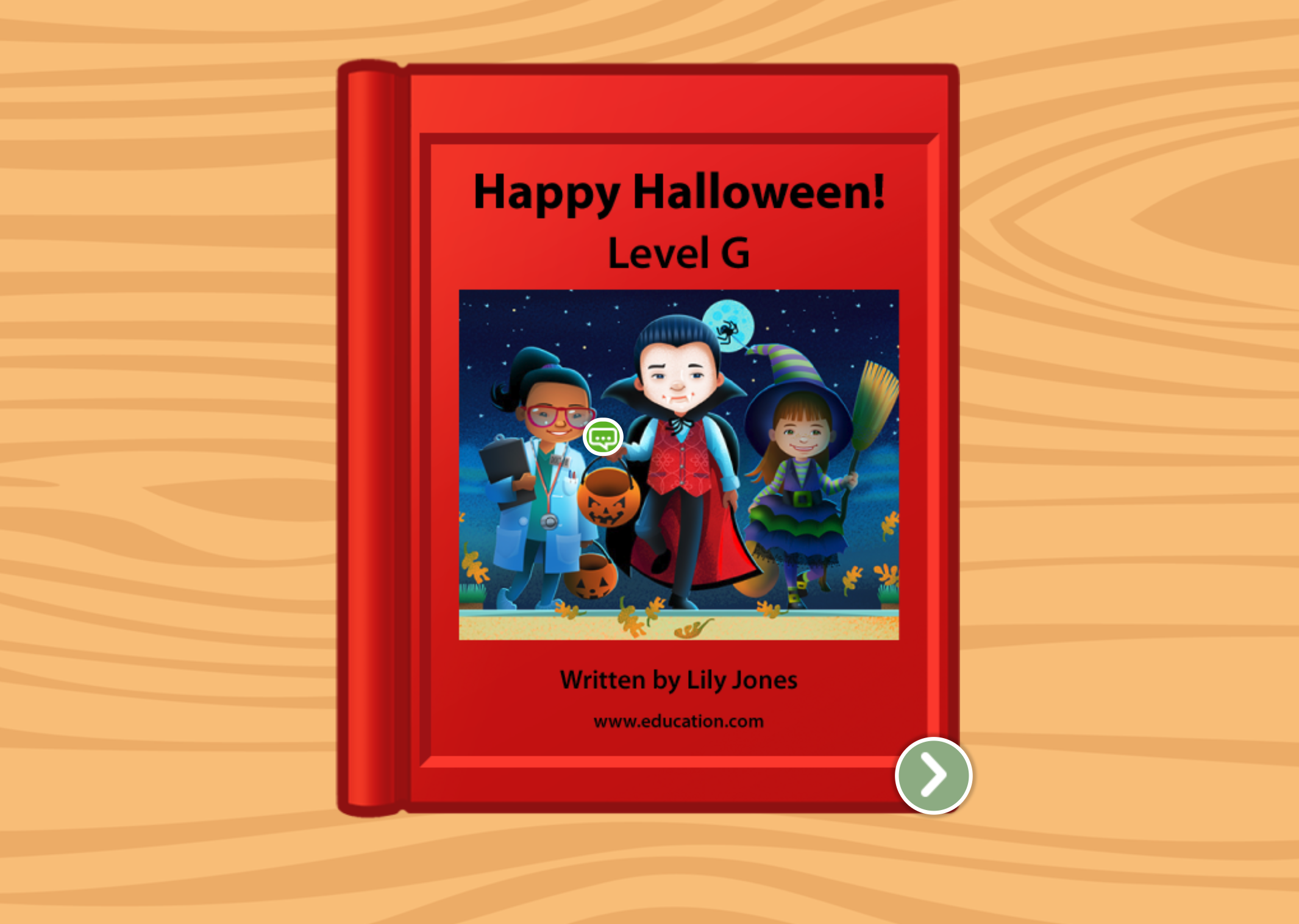1st grade Reading & Writing Stories: Happy Halloween: Level G
