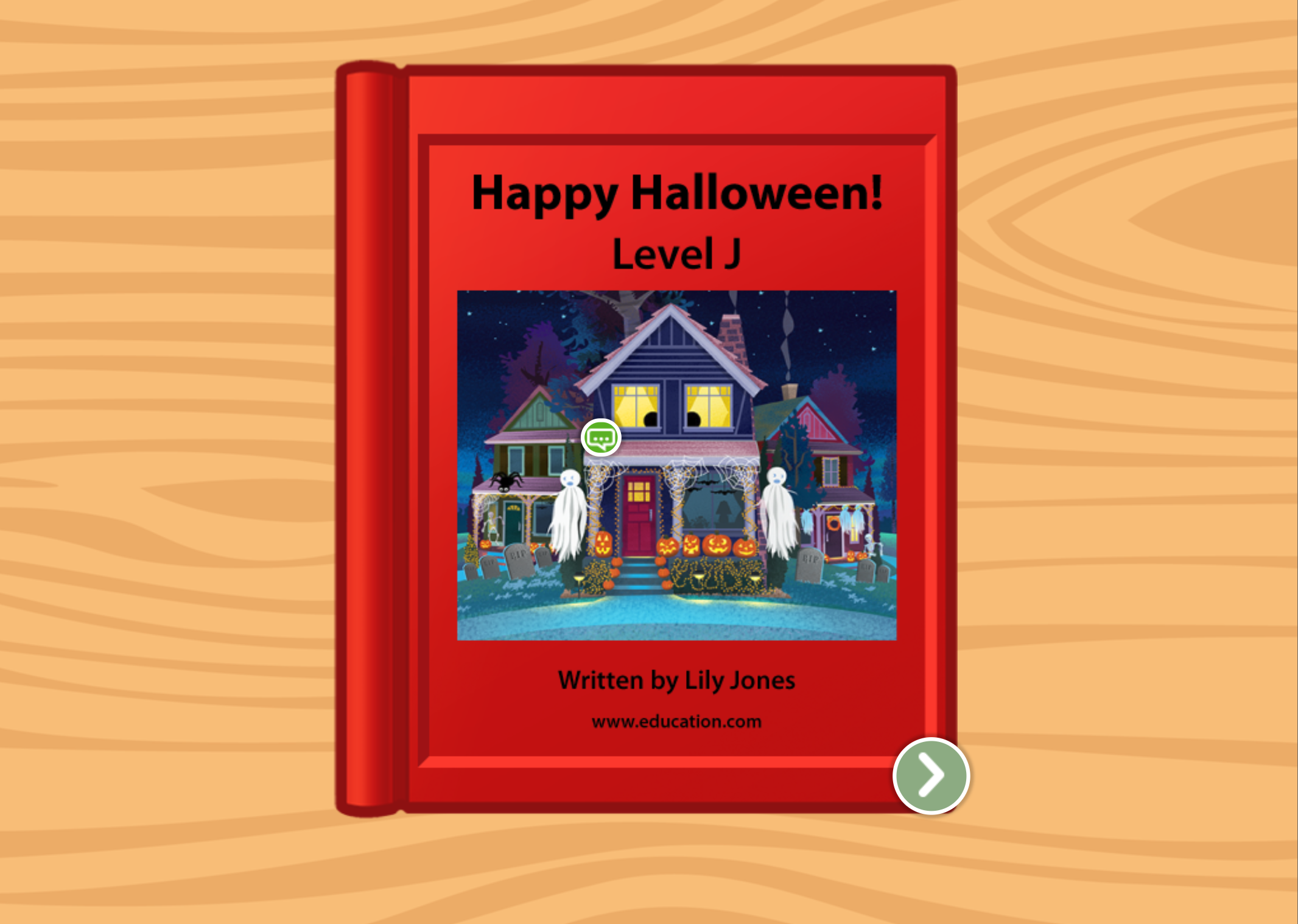 1st grade Reading & Writing Stories: Happy Halloween!: Level J