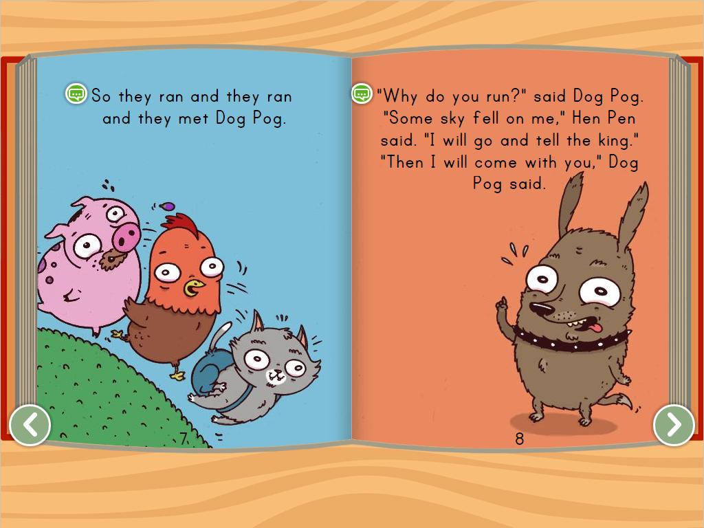 1st grade Reading & Writing Stories: Hen Pen