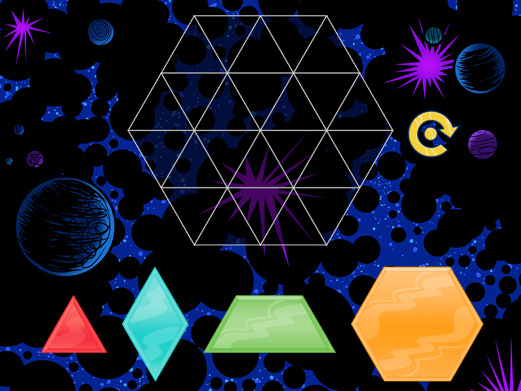 Kindergarten Math Games: Hexuzzle