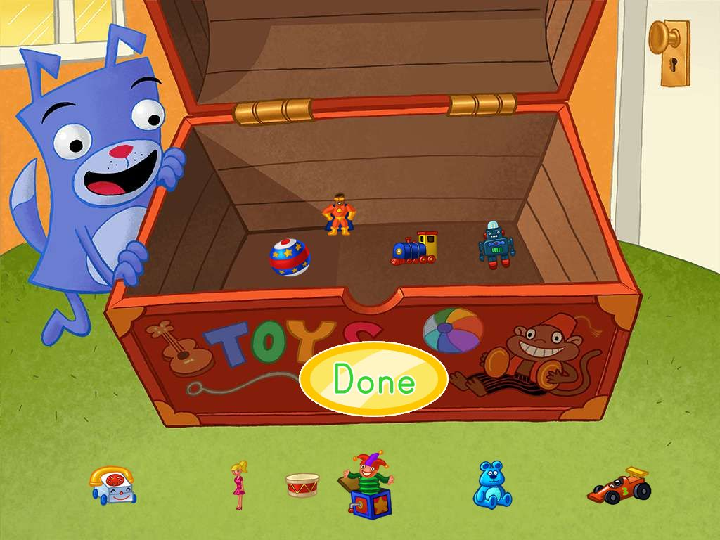 Preschool Math Games: How Many Toys in the Chest?