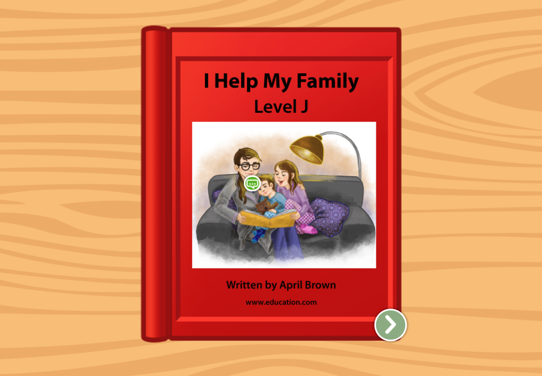 1st grade Reading & Writing Stories: I Help My Family: Level J
