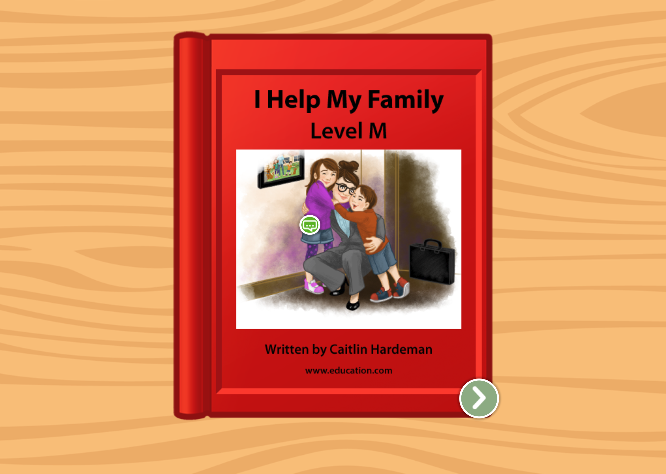 2nd grade Reading & Writing Stories: I Help My Family: Level M