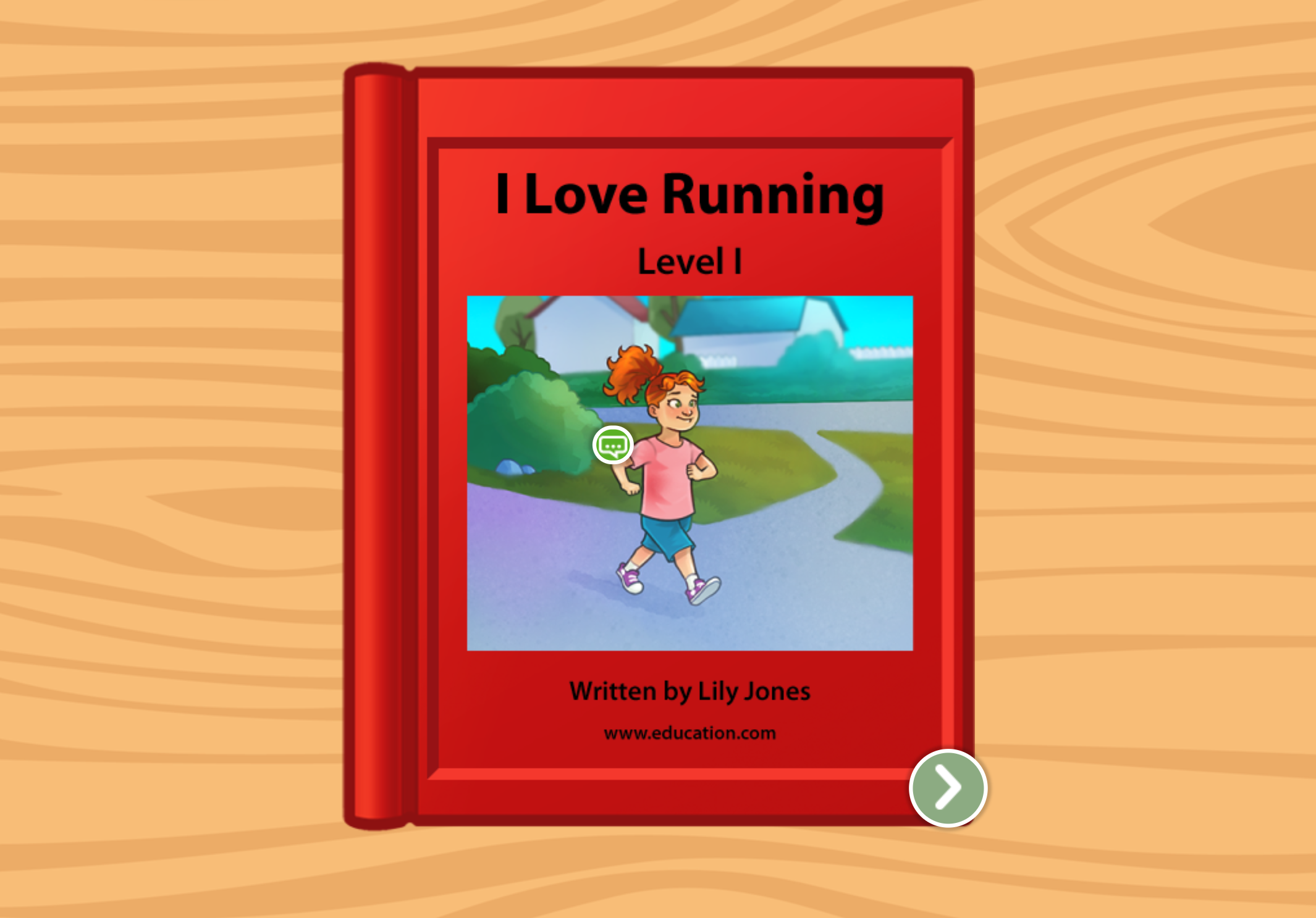 1st grade Reading & Writing Stories: I Love Running: Level I