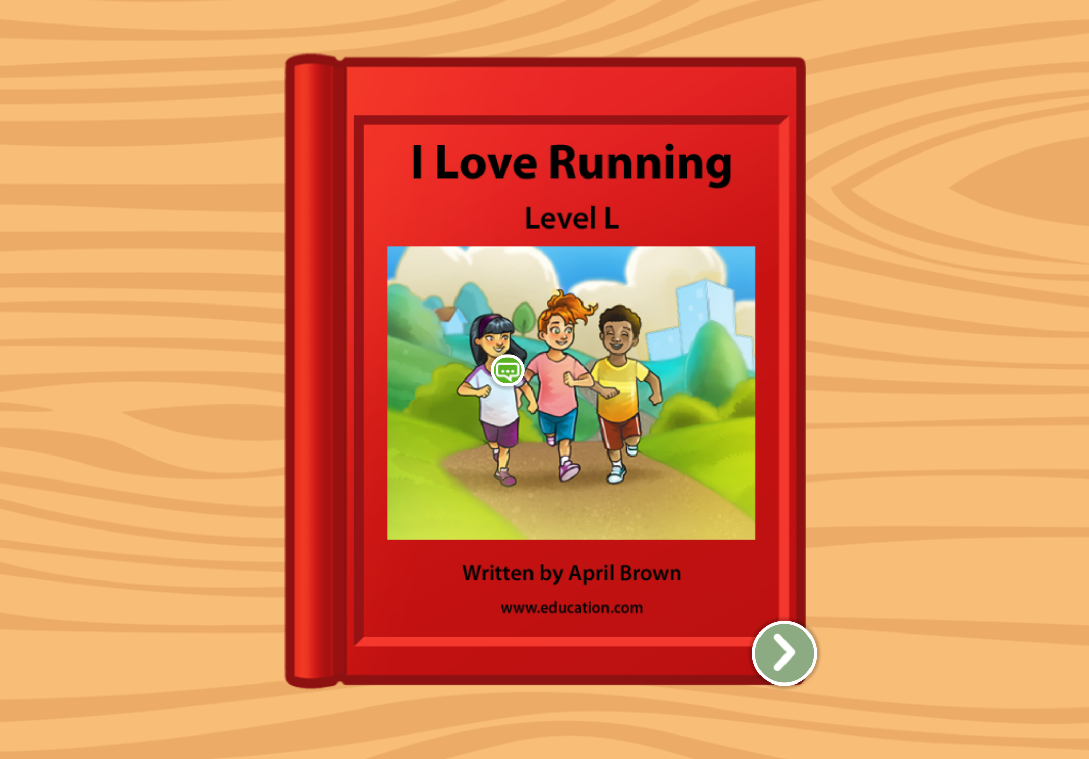 2nd grade Reading & Writing Stories: I Love Running: Level L