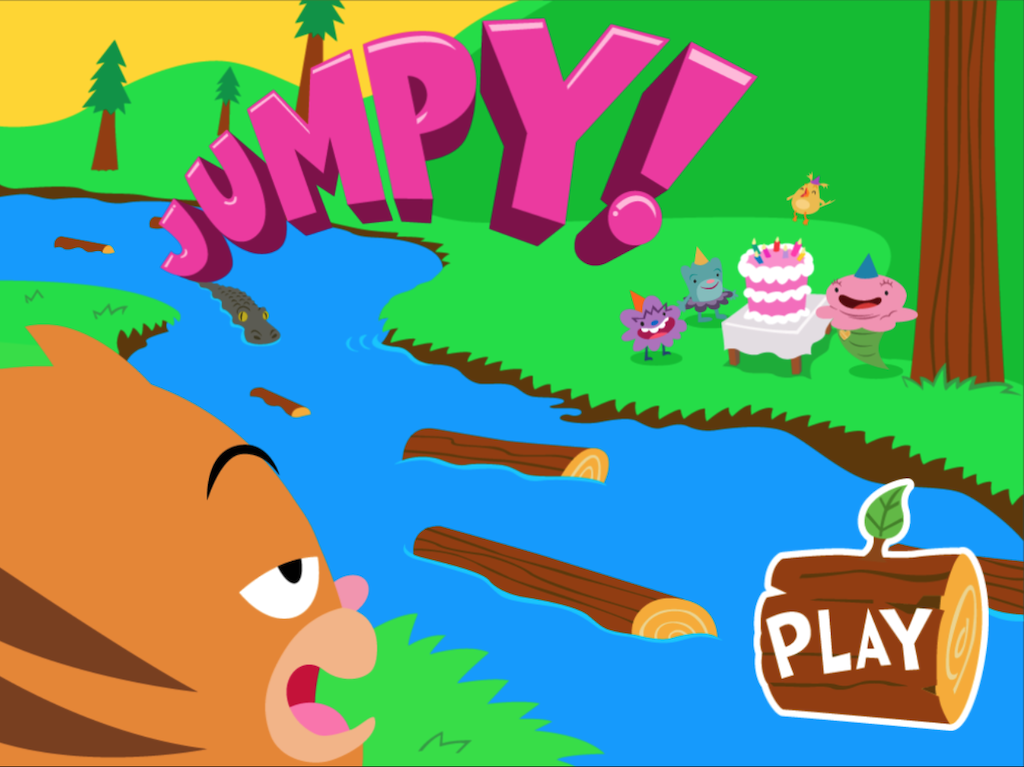 3rd grade Math Games: Jumpy: Equivalent Fractions