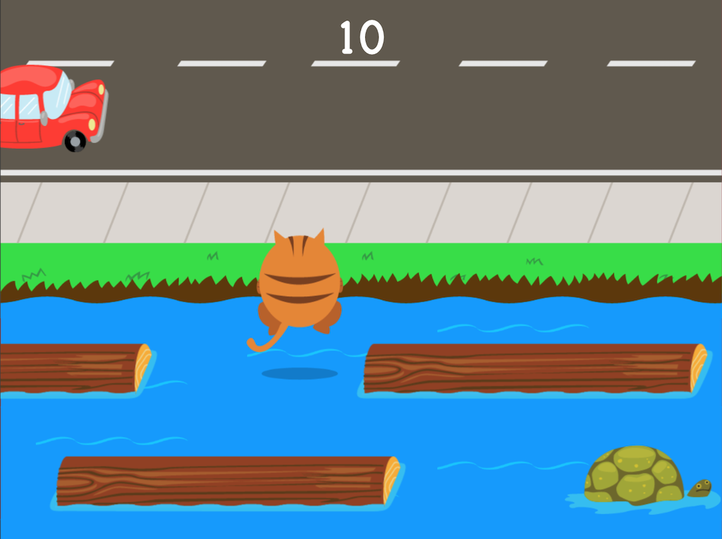 5th grade Math Games: Jumpy: Powers of 10
