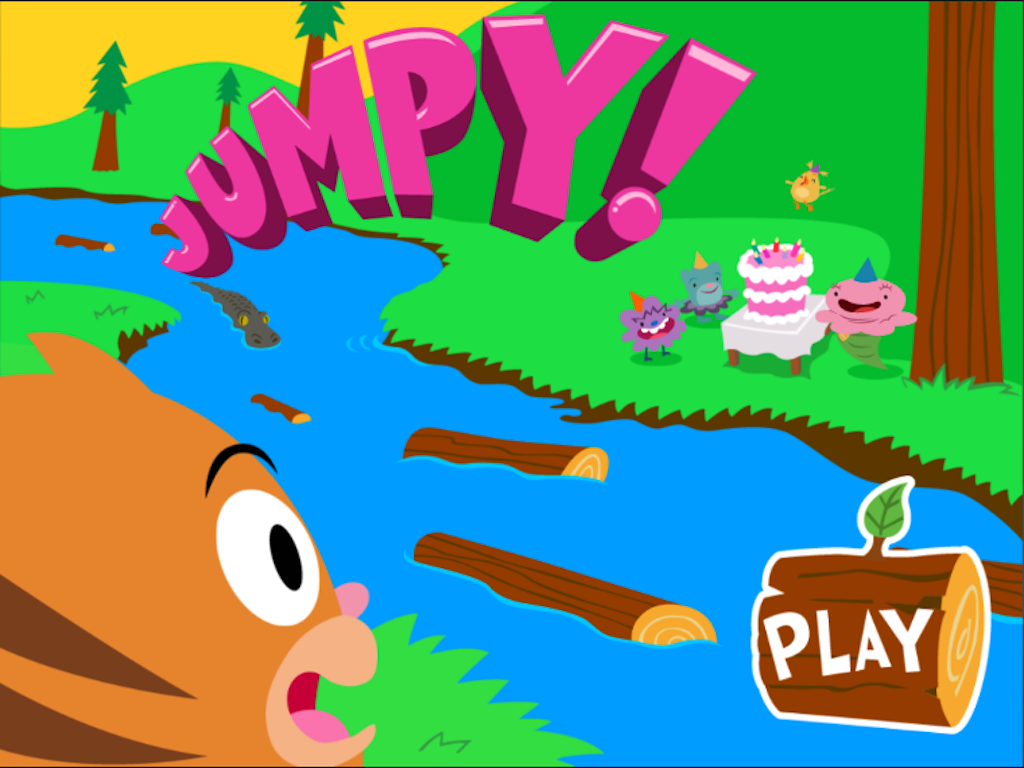1st grade Math Games: Jumpy: Subtraction Word Problems Within 20