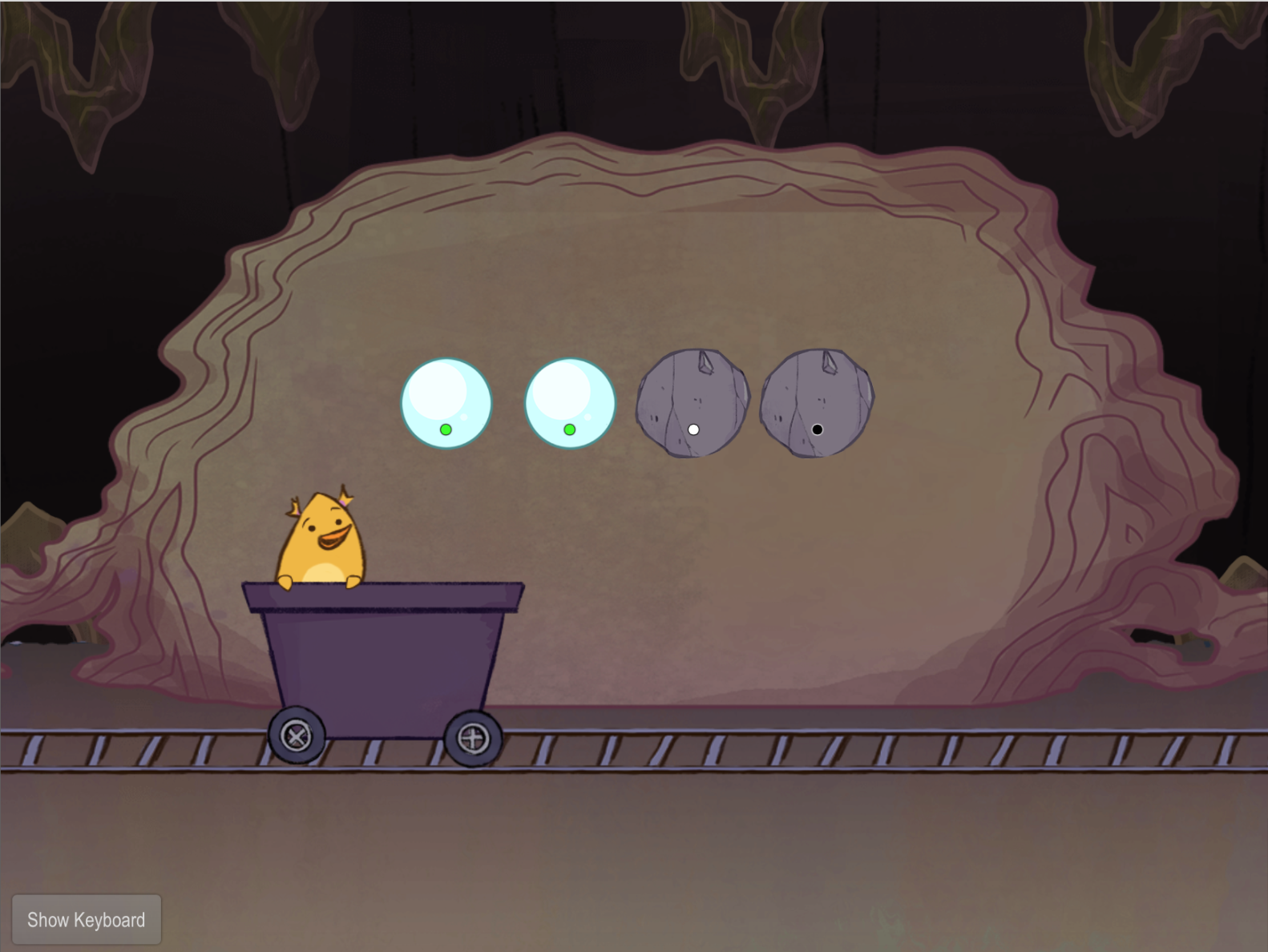 1st grade Typing Games: Typing Symbols with Gem Miner (Part Two)